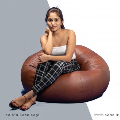 Leather classic Bean bag